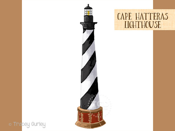570x428 Cape Hatteras Lighthouse Clip Art Beach Clip Art Hand