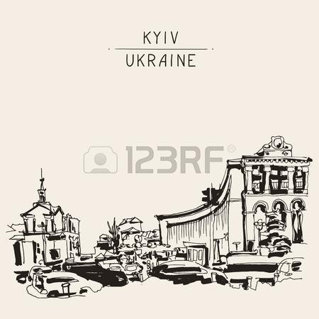 450x450 Sketch Marker Drawing Khreshchatyk Main Street