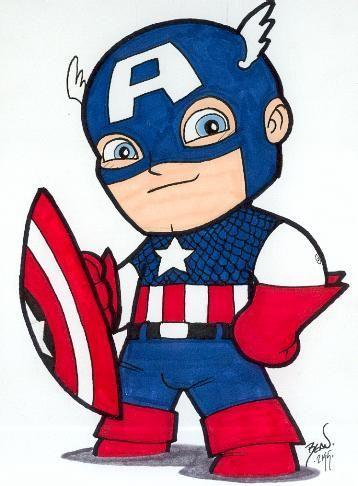 358x486 Beautiful Captain America Cartoons Best 25 Captain America Drawing