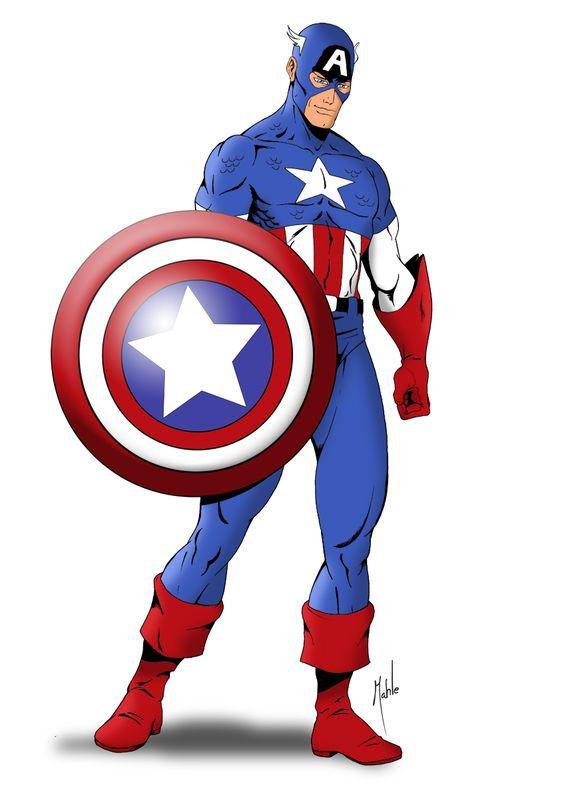 564x799 Captain America Old School Outfit Captain America Folder