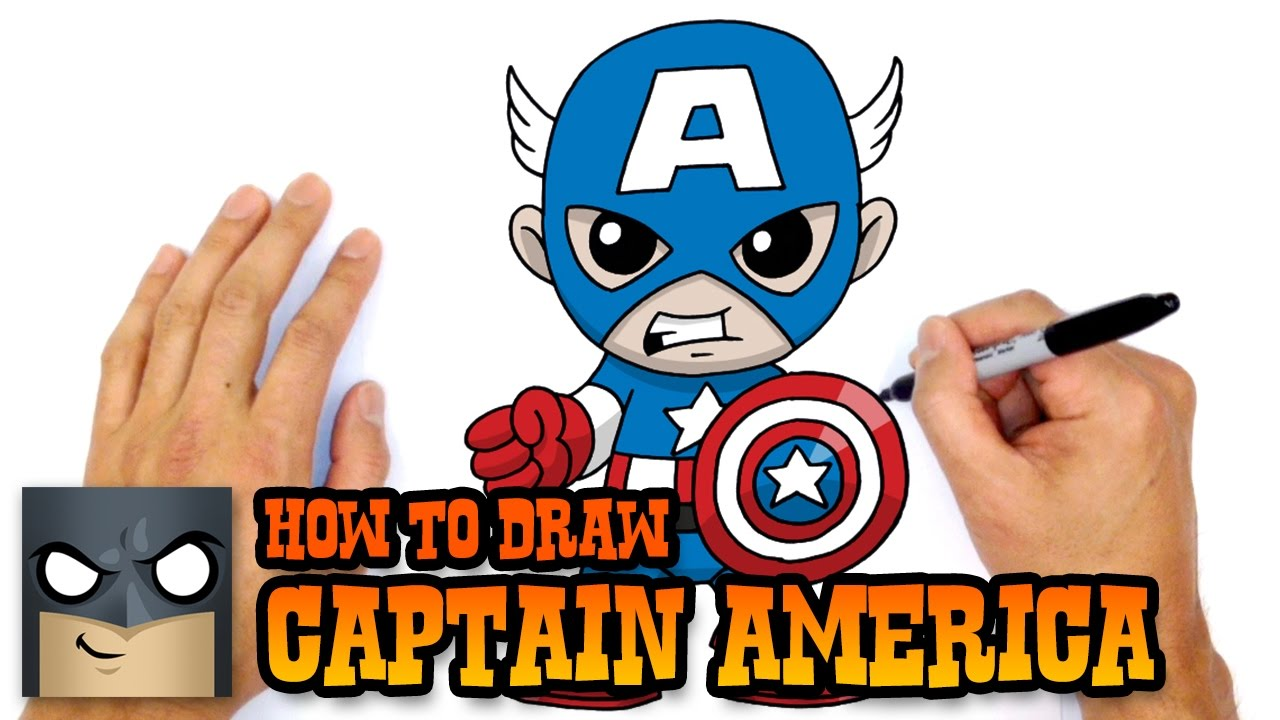 1280x720 How To Draw Captain America The Avengers