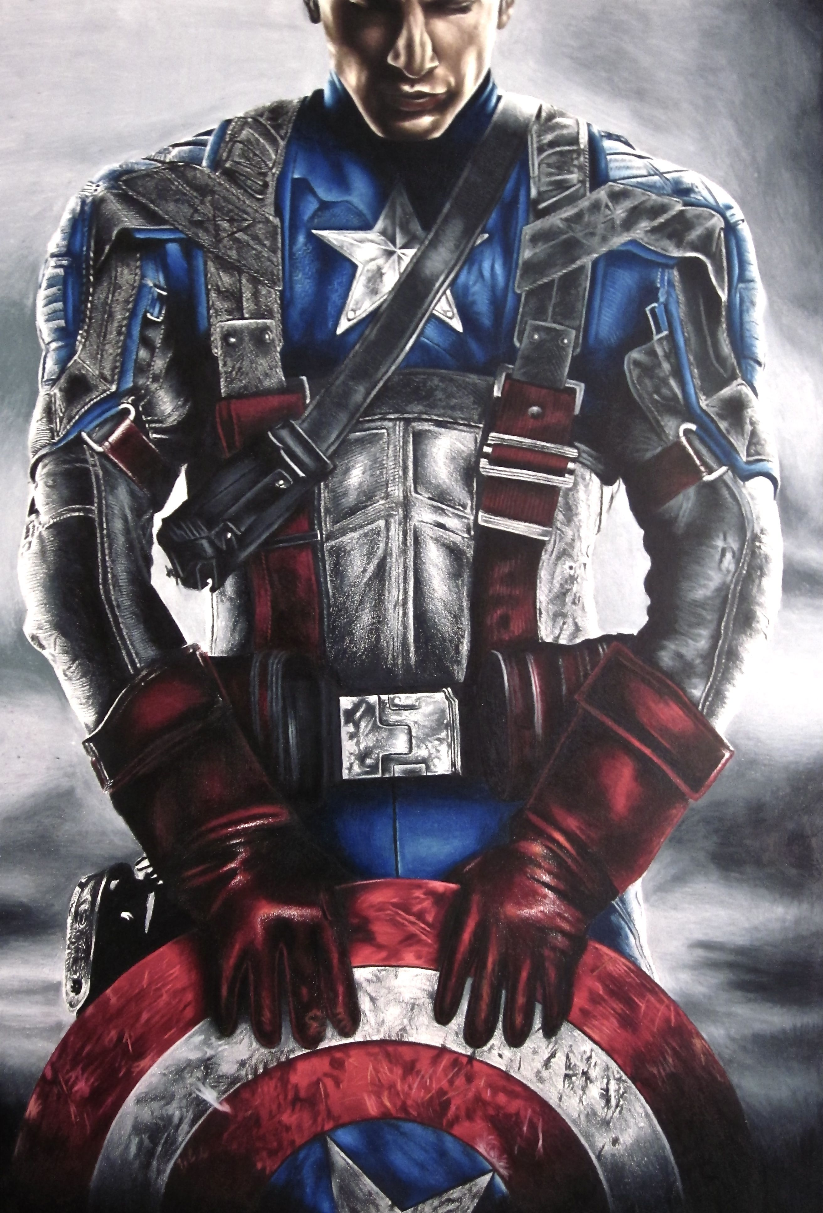 2624x3866 Pics Of Captain America Drawings Of Captain America