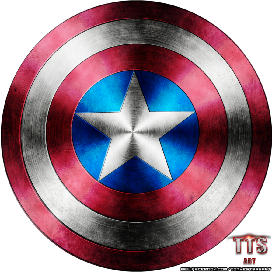 894x894 Captain America Shield Render By To Thestars