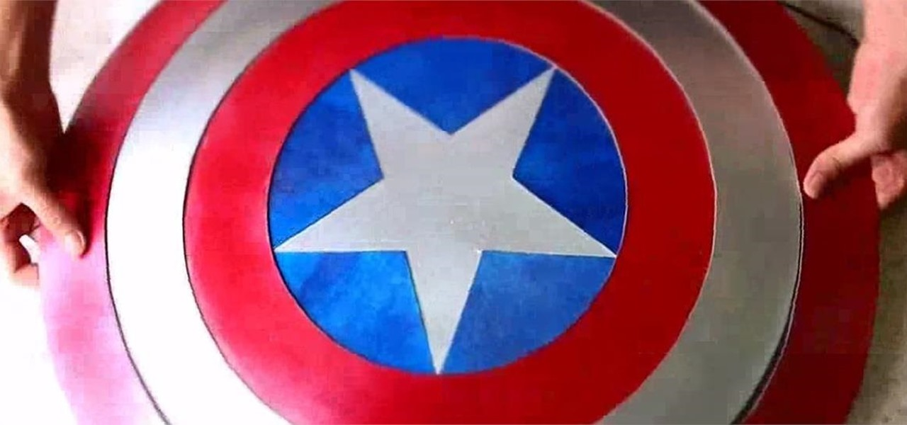 1280x600 How To Make A Cardboard Captain America Shield For Halloween
