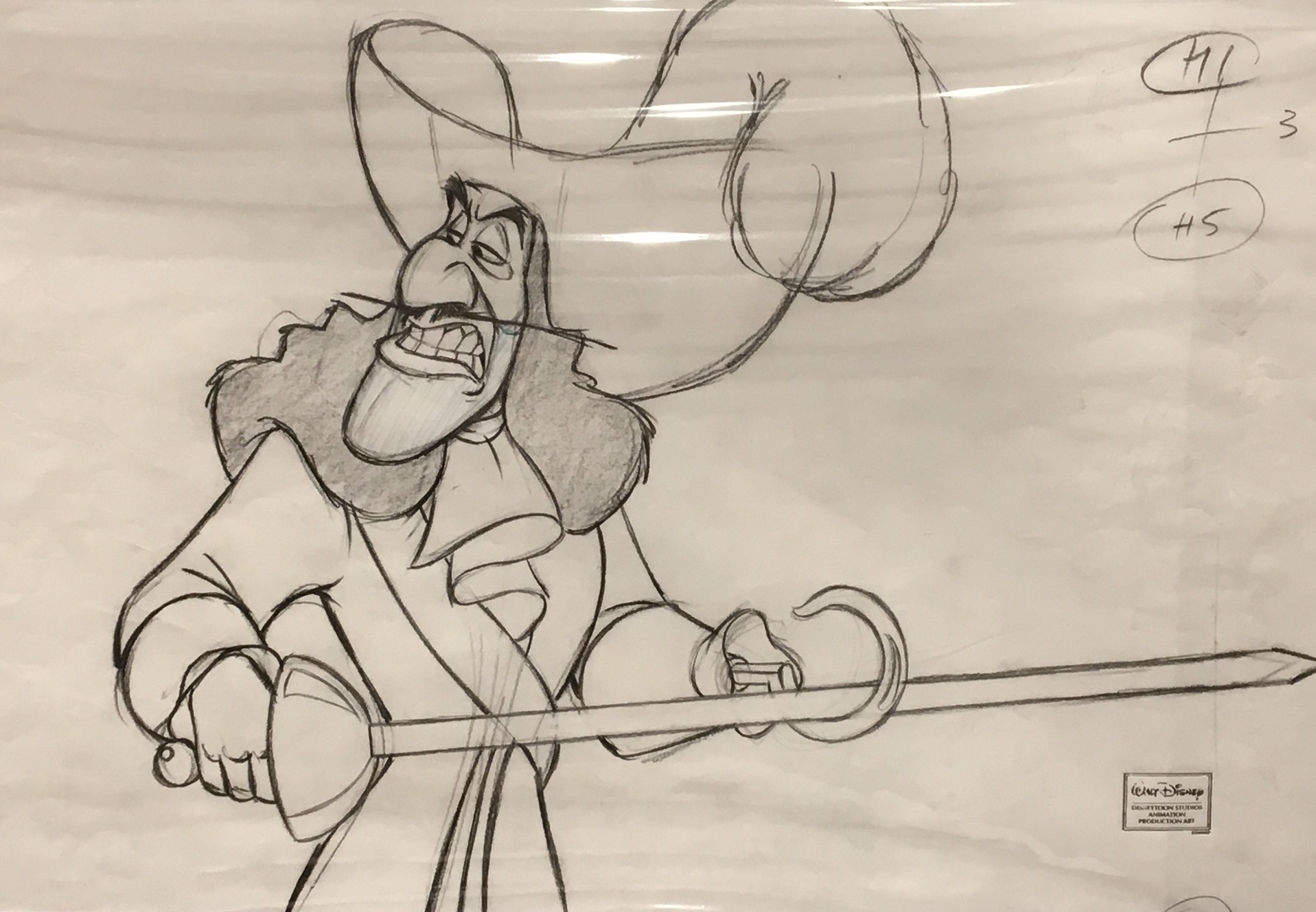 captain hook drawing at getdrawings | free download