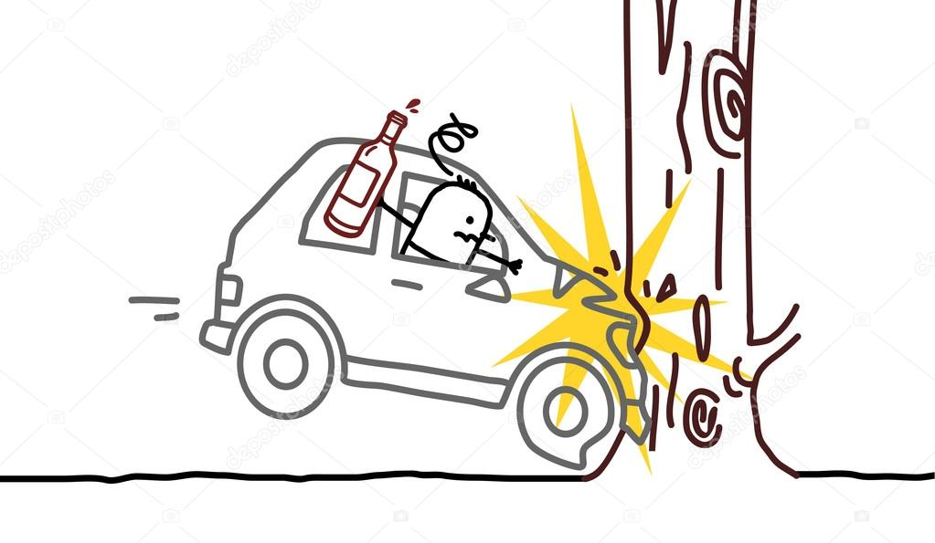 Car Crash Drawing at GetDrawings.com | Free for personal use Car ...