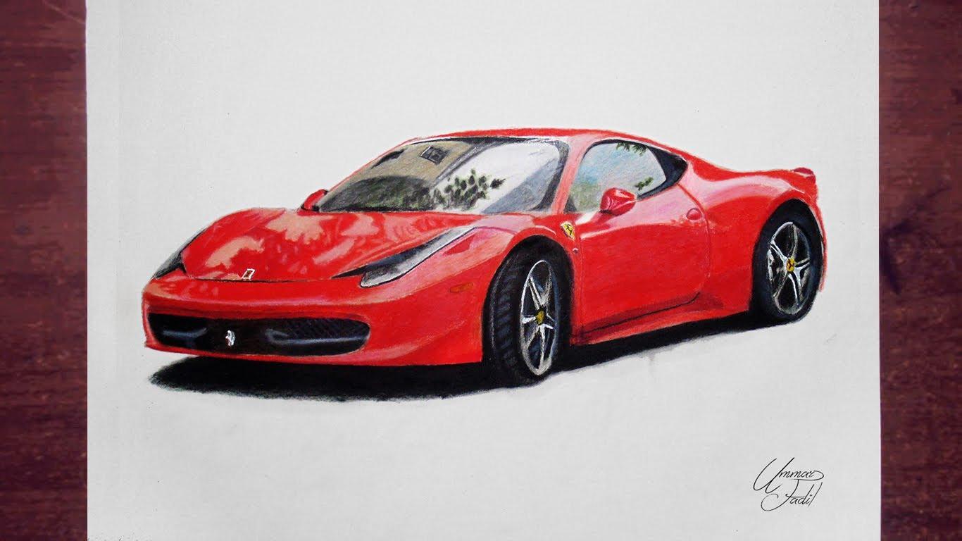 1366x768 Drawing Cars 2