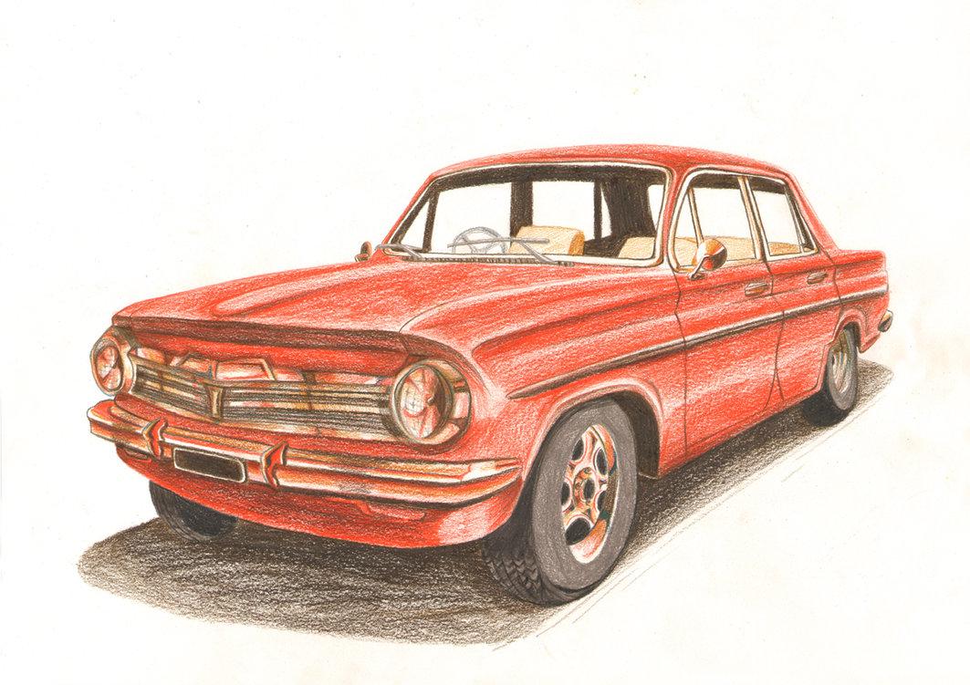 1063x751 Color Pencils Car By Vrm1979