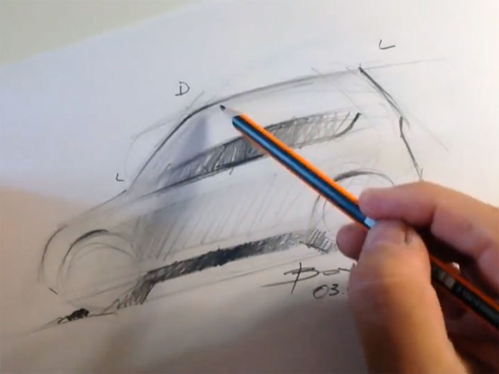 720x540 Drawing Cars Line Quality Exercises For Beginners
