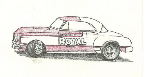 500x264 Car Drawings