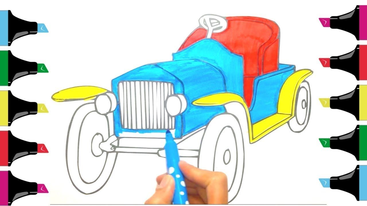 Car Drawing Kids at GetDrawings.com | Free for personal use Car ...