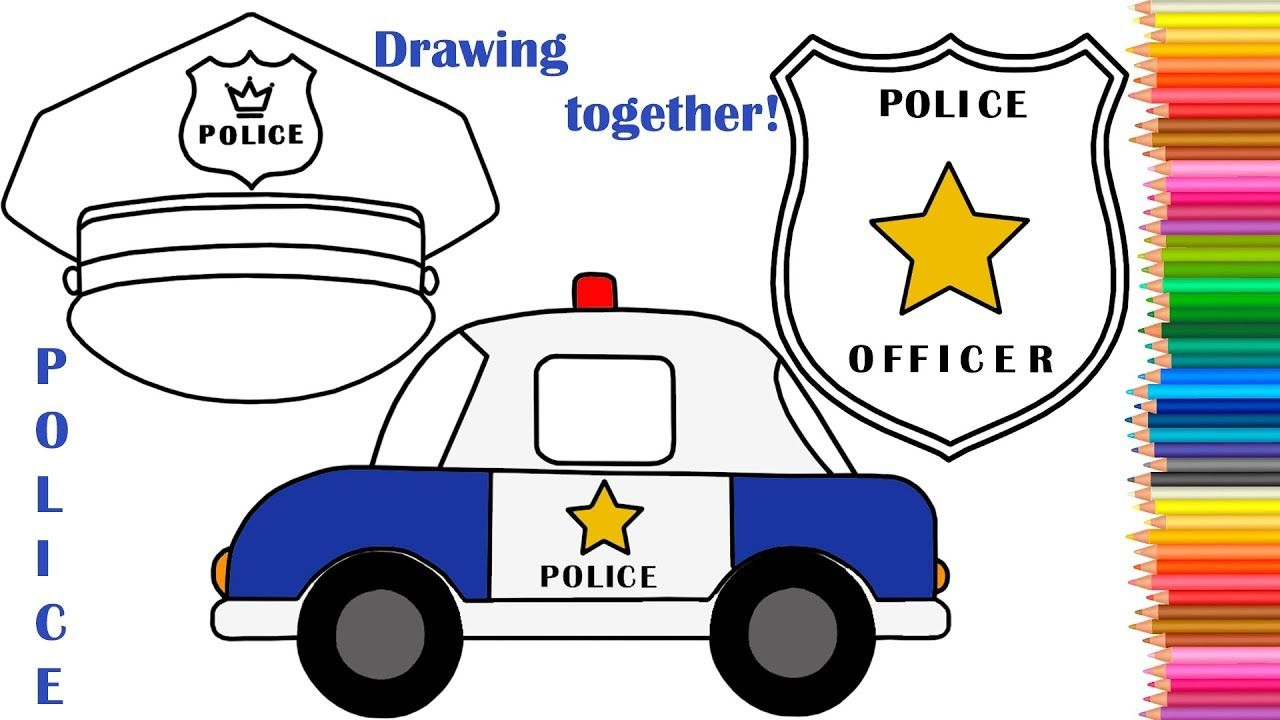1280x720 Immediately Police Badge Drawing How To Draw A Car Cap Typeakitchen