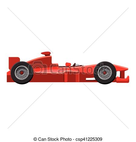 450x470 Sport Car Side View Icon, Isometric 3d Style. Sport Car Side