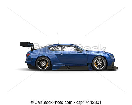 450x357 Awesome Modern Navy Blue Race Super Car