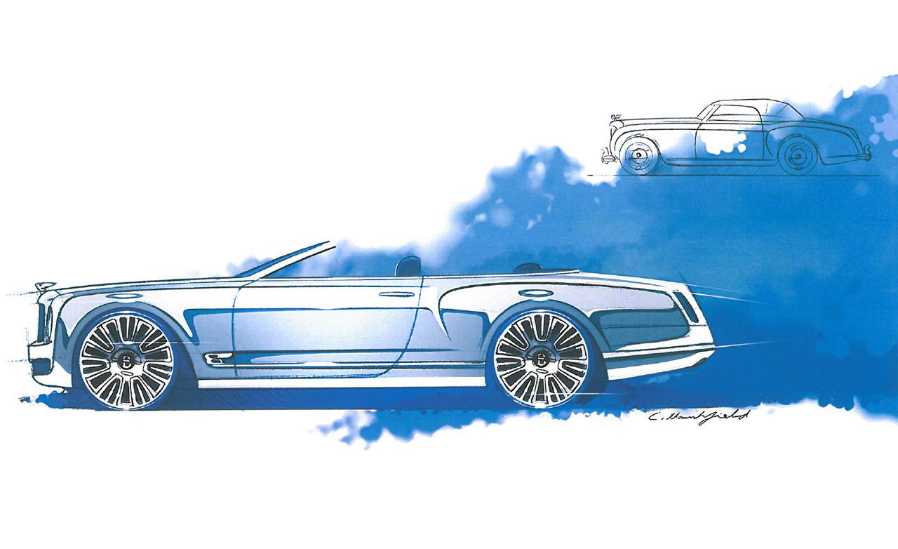 1280x782 Bentley Mulsanne Convertible Concept Photos And Info News Car
