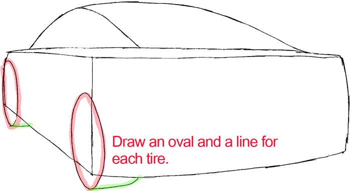700x382 How To Draw The Back Of A Car With Easy Step By Step Drawing