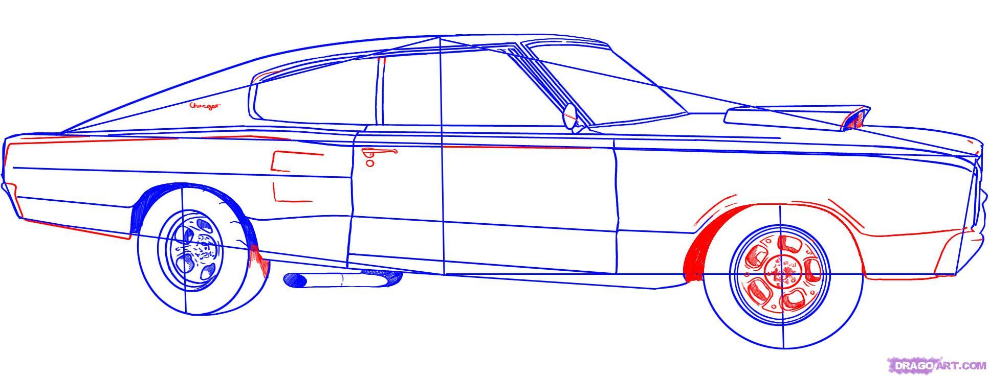 1933x738 Sketch Cars Step Step How To Draw Lamborghini Aventador, A Car