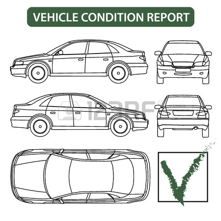450x450 Car All View, Top, Side, Back, Front Royalty Free Cliparts