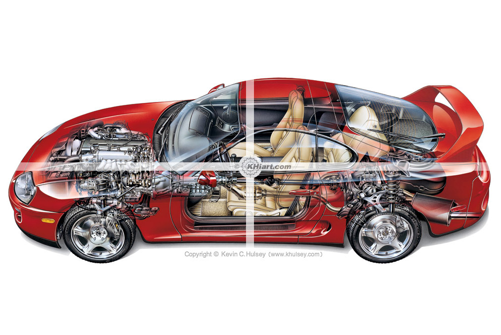 1010x677 Automotive Illustrations And Cutaways