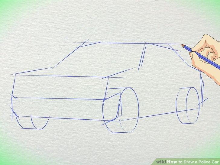 728x546 3 Ways To Draw A Police Car