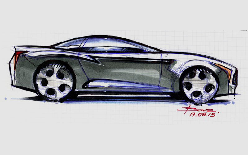 800x500 How To Start Drawing A Car
