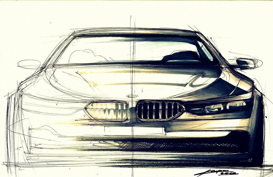 Car Front View Drawing At Getdrawings Com Free For Personal Use