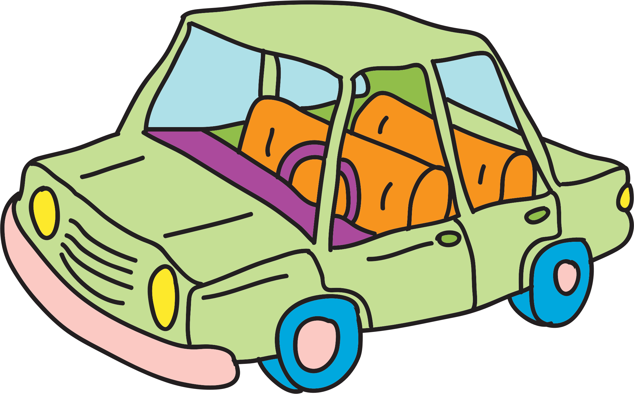 2141x1333 Car Sketch Png Clipart