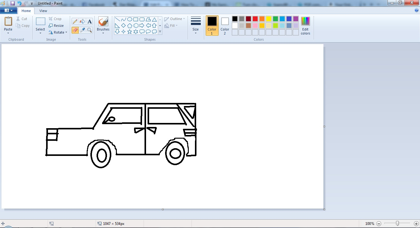 1366x740 How To Draw A Car