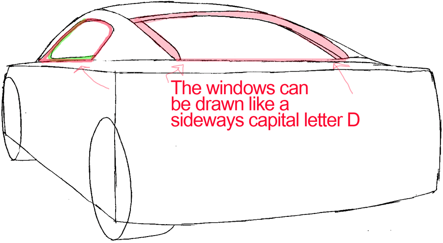 900x493 How To Draw The Back Of A Car With Easy Step By Step Drawing