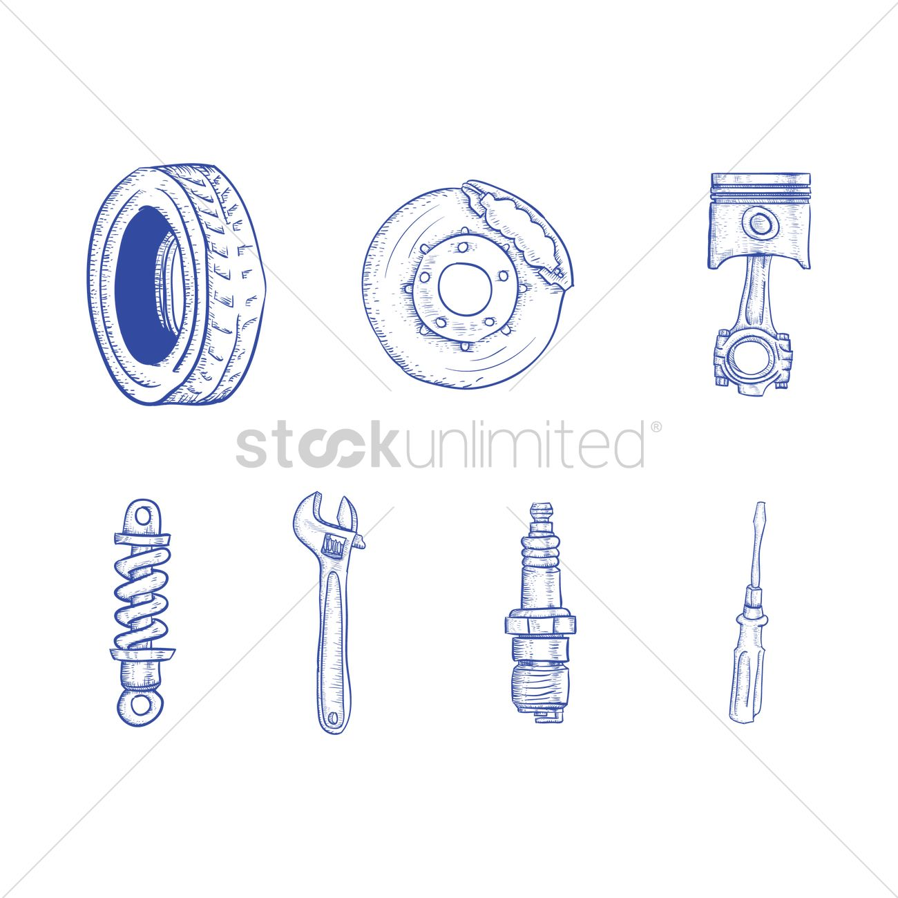 Car Parts Drawing at GetDrawings.com | Free for personal use Car ...