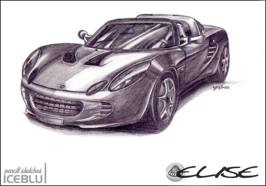 Lotus Car Coloring Pages : Car pencil drawing at getdrawings free for personal use car