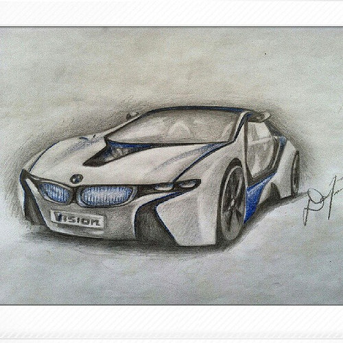 500x500 Gallery Best Celebrities And Cars Drawn By Pencil,