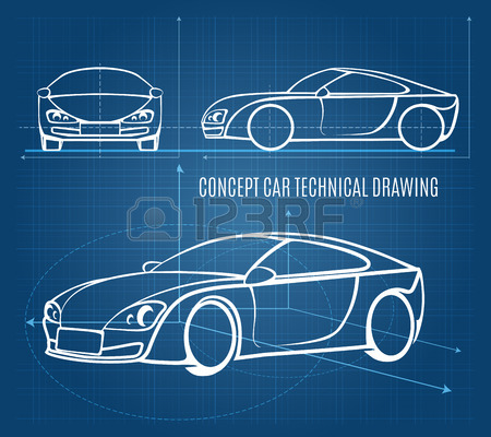 450x400 Car Drawing Stock Photos. Royalty Free Business Images
