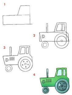236x311 Very Easy Car To Draw For Little Kids Baby Carriage, Drawings