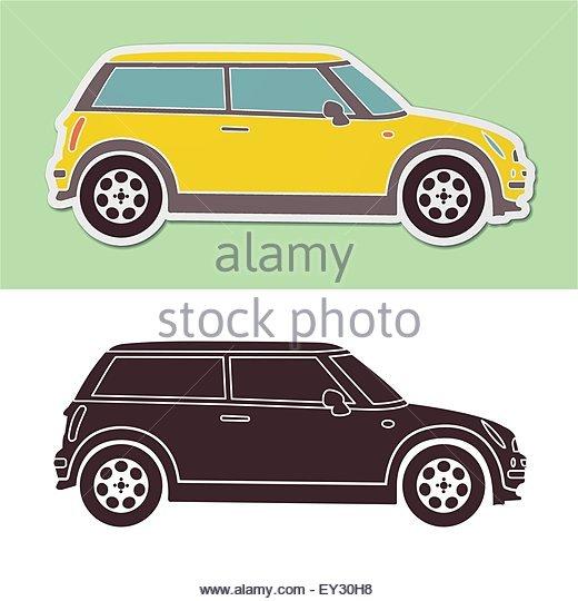520x540 Mini Car Vector Stock Photos Amp Mini Car Vector Stock Images