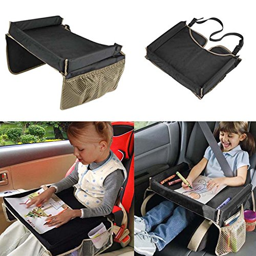 500x500 Kemai Waterproof Baby Kids Car Safety Seat Snack Play Travel Tray