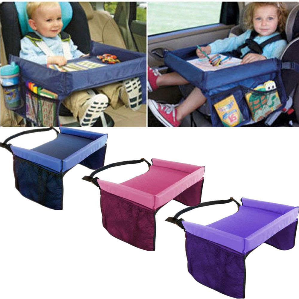 1000x1000 Kids Baby Safety Waterproof Snack Car Seat Table Play Travel Tray