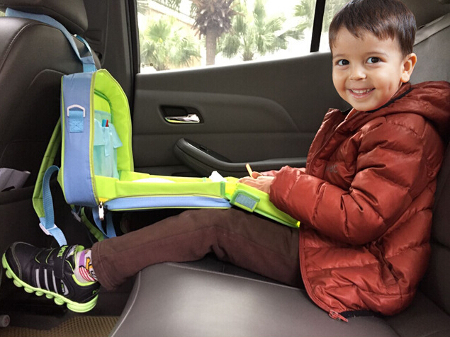 635x476 Kids Car Seat Draw Tray Baby Seat Drawing Bag Portable Baby
