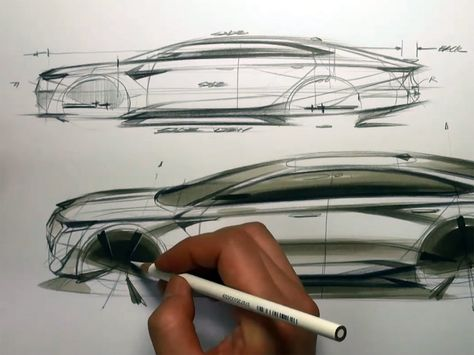 Tesla Car Coloring Pages : Car side drawing at getdrawings free for personal use car