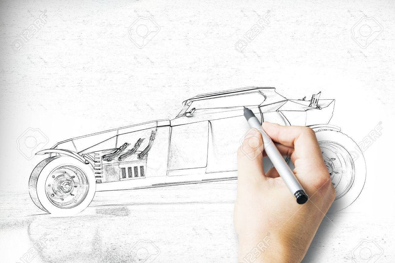 Lotus Car Coloring Pages : Car side drawing at getdrawings free for personal use car