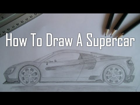 480x360 How To Draw A Supercar [Sideview]