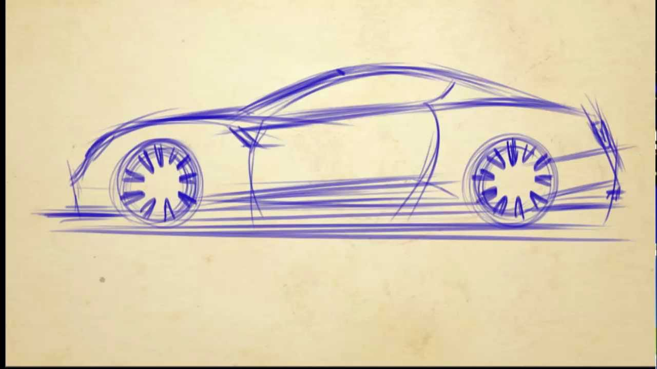 1280x720 How To Draw Cars In 5 Min