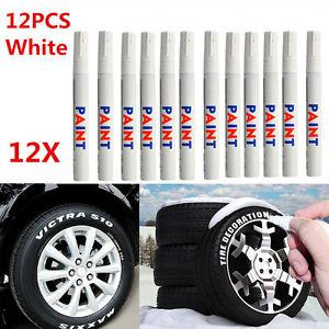 300x300 12pcs Car Tyre Marker Paint Pen Tire Permanent Waterproof Glass