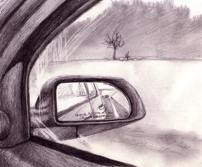 400x330 Car Window Sketch By Butterflyeyes884