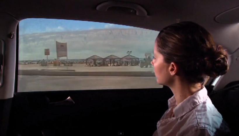 818x468 Interactive Car Windows By Gm + Bezalel Future Lab