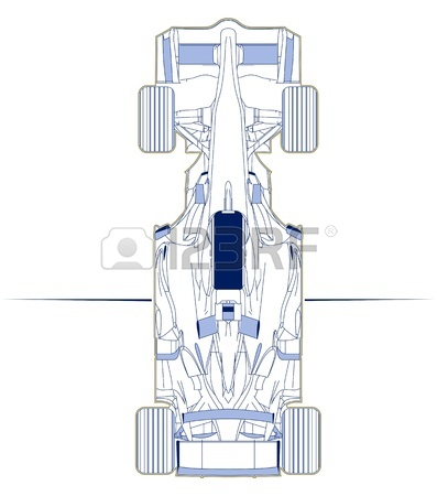 397x450 Illustration Of Two Cars Involved In A Car Wreck Royalty Free