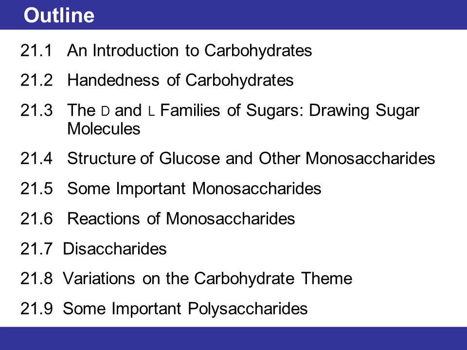 960x720 Outline 21.1 An Introduction To Carbohydrates