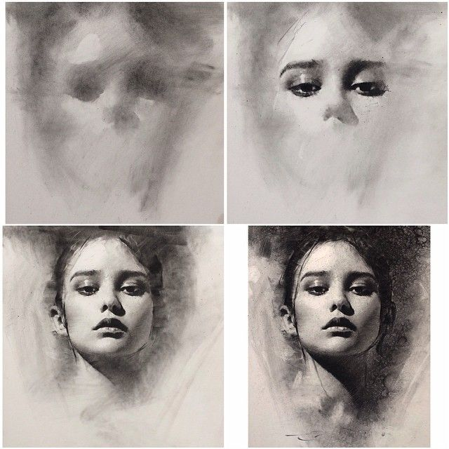 640x640 Gallery Charcoal Portrait Tutorial,