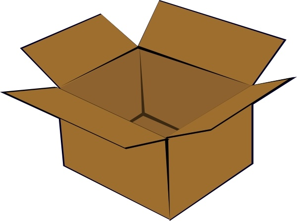 600x446 Cardboard Box Clip Art Free Vector In Open Office Drawing Svg