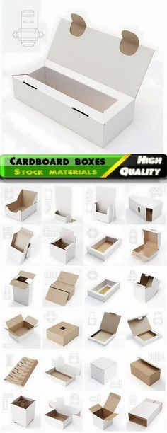 236x612 Design Of Cardboard Boxes With Drawings For Cutting